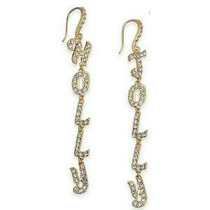 🆕️INC Pavé Holly Jolly Linear Drop Earrings